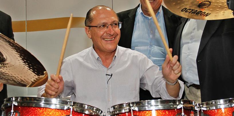 Geraldo Alckmin visita a Expomusic