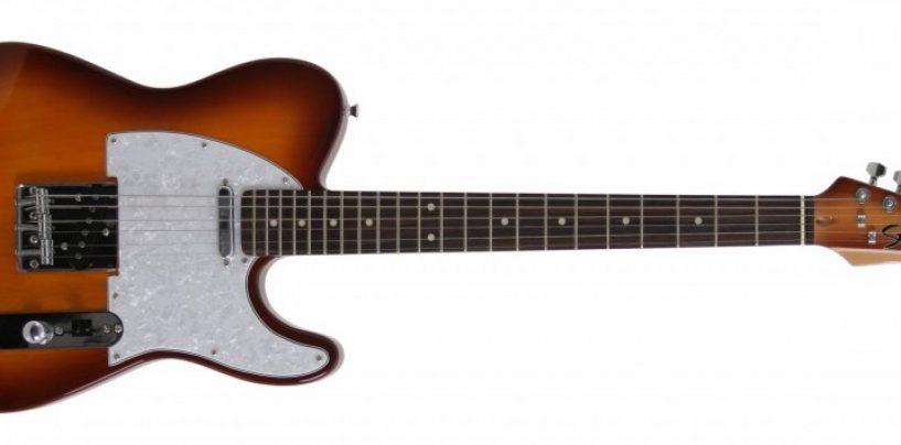 Seizi Television tem headstock único criado pelo luthier