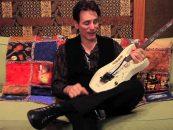 Steve Vai e sua guitarra Ibanez EVO