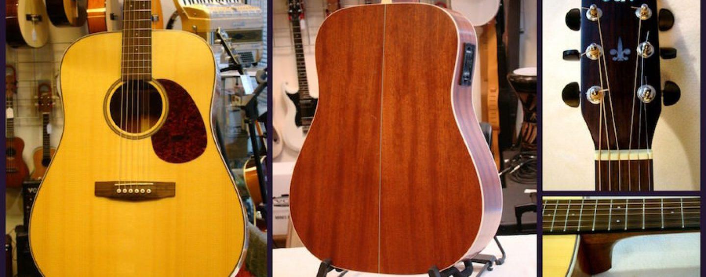 Disponível o violão Cort Earth 100 F no País