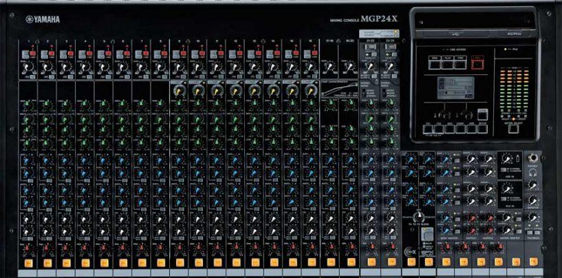 Yamaha Musical lança novas mesas de som MGP32X e MGP24X