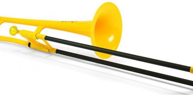 Jiggs pBone: trombones de plástico ganham nova versão