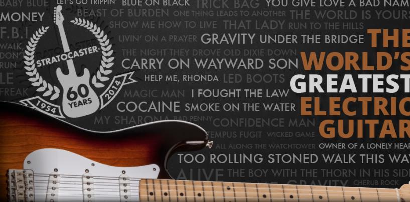 Fender Stratocaster comemora 60 anos
