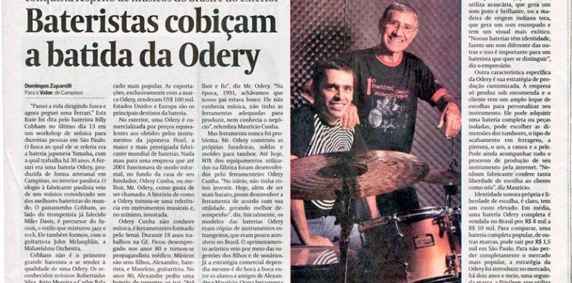 Odery é destaque do jornal Valor Econ