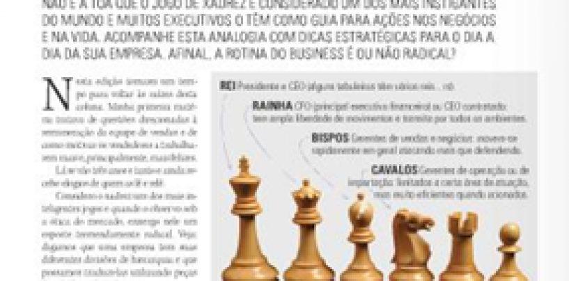 TECNOLOGIA MUSICAL: Xadrez, um esporte radical