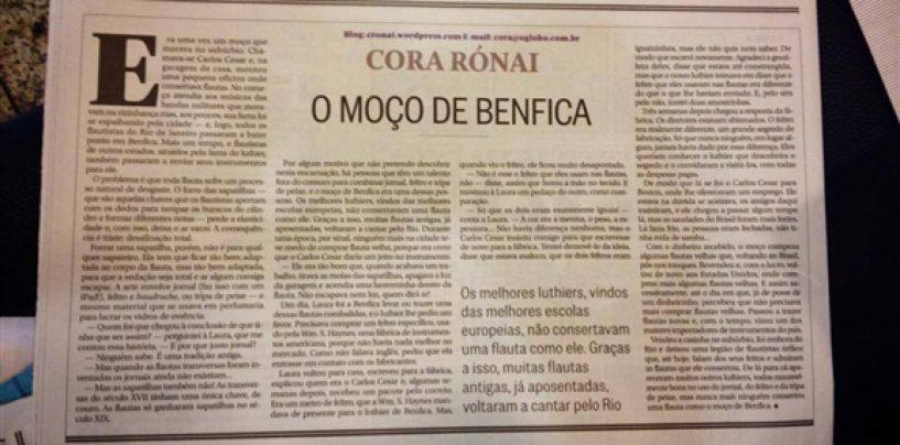 Fundador da Condor Music é destaque no jornal O Globo