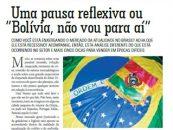 """PDV: Uma pausa reflexiva ou """"Bolívia, não vou para aí"""""""