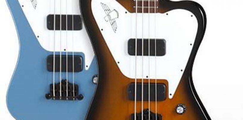 Gibson cria baixo Thunderbird Studio Non Reverse
