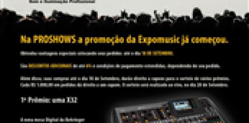 Expomusic 2012: ProShows abre promoção