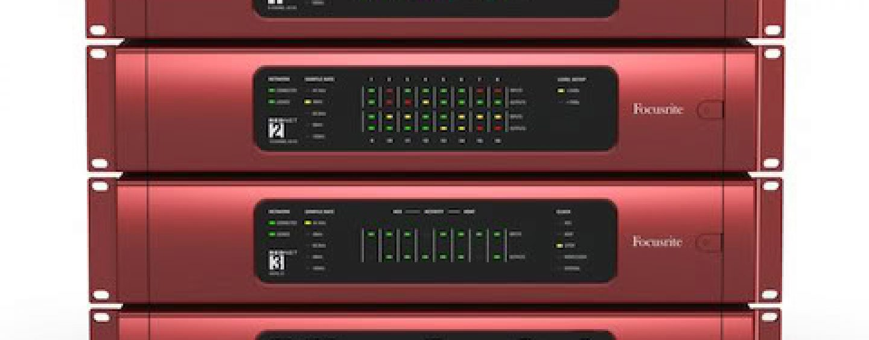 AES: Conheça o sistema de áudio RedNet, da FocusRite