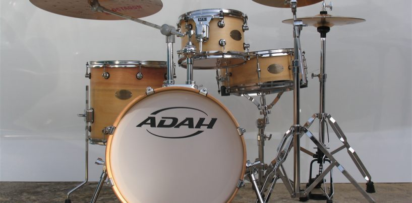 Bateria Classic Wood Jazz, da Adah Drums
