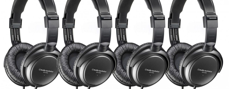 Audio-Technica lança ATH-M10, fone de ouvido para monitoração