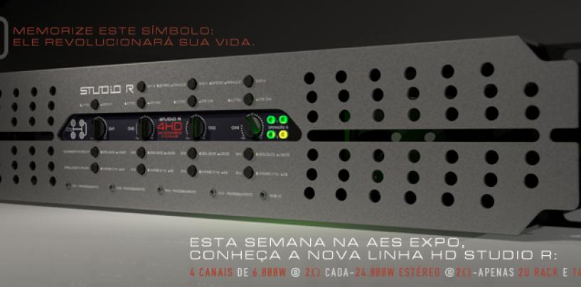 AES 2014: Studio R lança amplificador 4HD-25