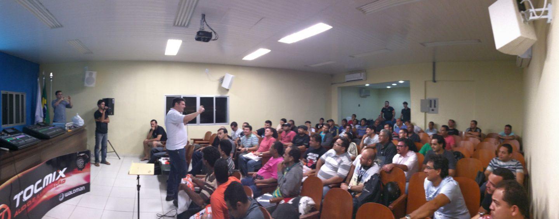 Treinamento técnico Behringer e Audio-Technica na Paraíba