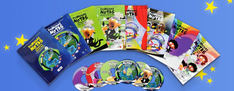 EDUCAÇÃO: Série de livros para auxiliar professores a ensinar música