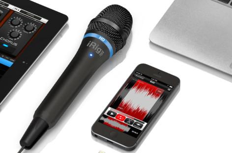 IK Multimedia lança o novo iRig MIC HD