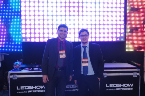 Conheça os painéis de LED da GPTronics