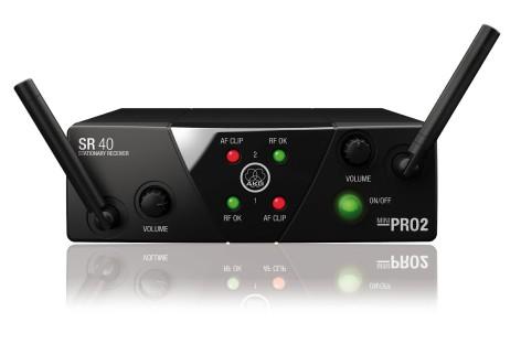 Lançamento AKG: sistema wireless WMS40 Mini Dual