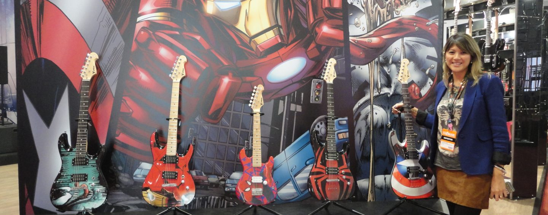 Guitarras Marvel chegam à PHX