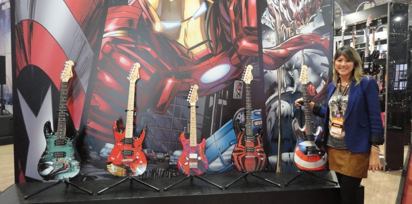 Guitarras Marvel chegam à PHX