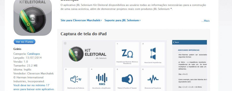 Sonorização: Harman inova e lança 'Kit Eleitoral'