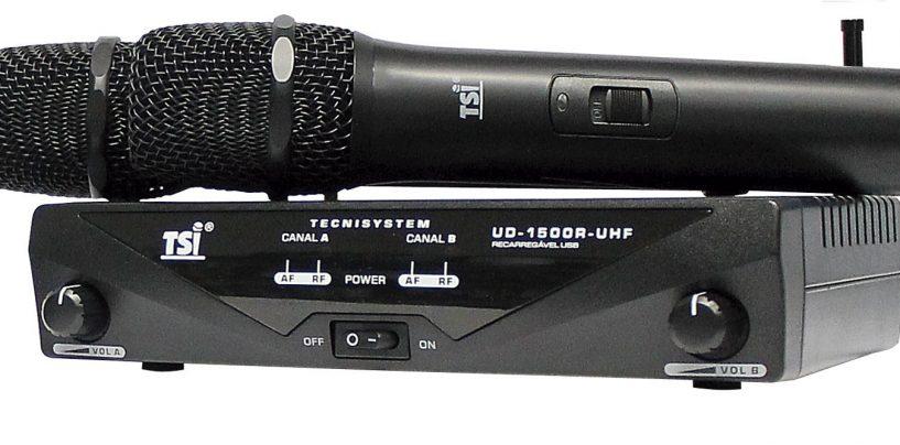 TSI Microfones em evento na semana da Expomusic