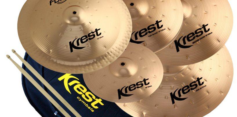 Krest Cymbals com novos representantes em RS, RJ e PA