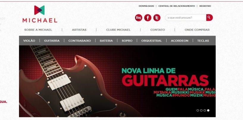 Novo site Michael