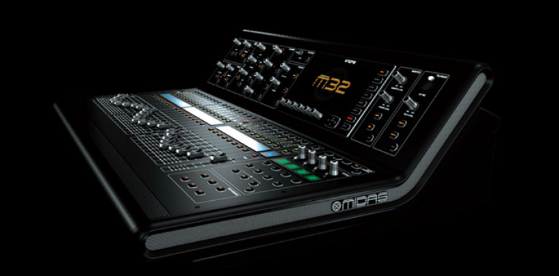ProShows e Chedas promovem workshop Midas M 32