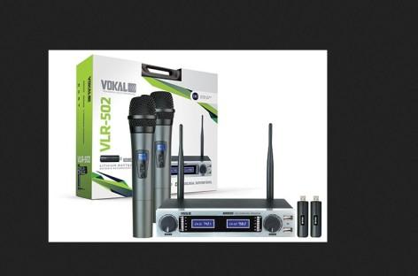 Lançamento Vokal VLR-502, com bateria de lithium recarregável
