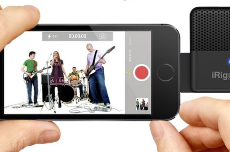 iRig Mic Field, da IK Multimedia, já disponível ao mercado