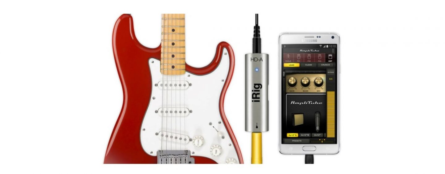 iRig HD-A: interface para dispositivos Samsung