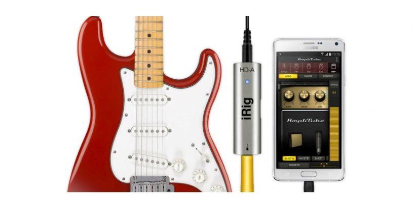 iRig HD-A: interface para dispositivos Samsung