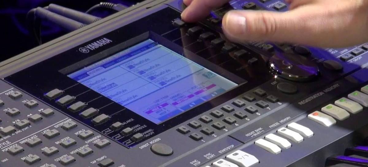 Ritmos para teclados Yamaha: download grátis