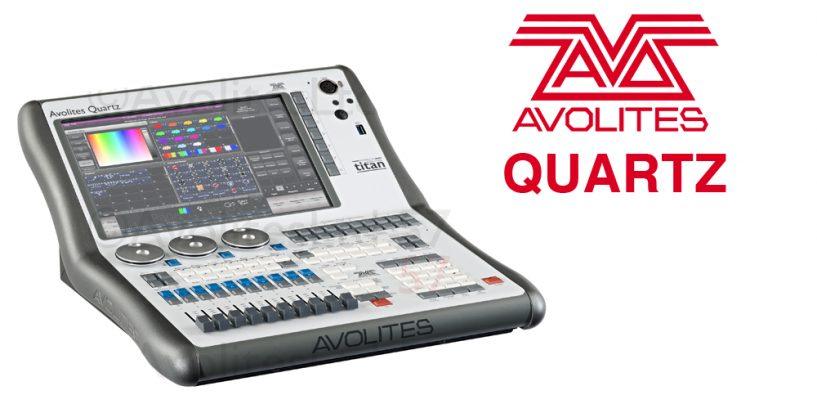 Lançamento Avolites: console Quartz