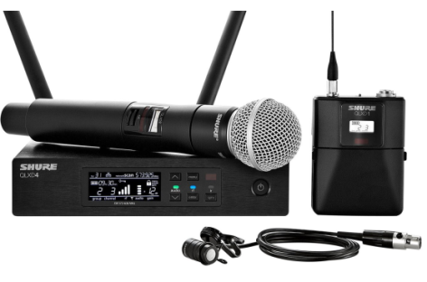 Shure: Nova linha wireless QLX-D