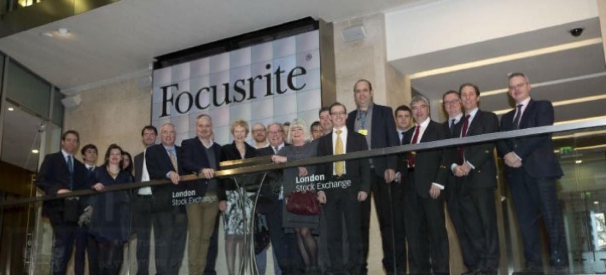Focusrite se torna empresa de capital aberto