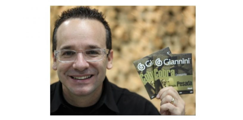 Giannini apresenta novo endorser: Marcelo Lombardo