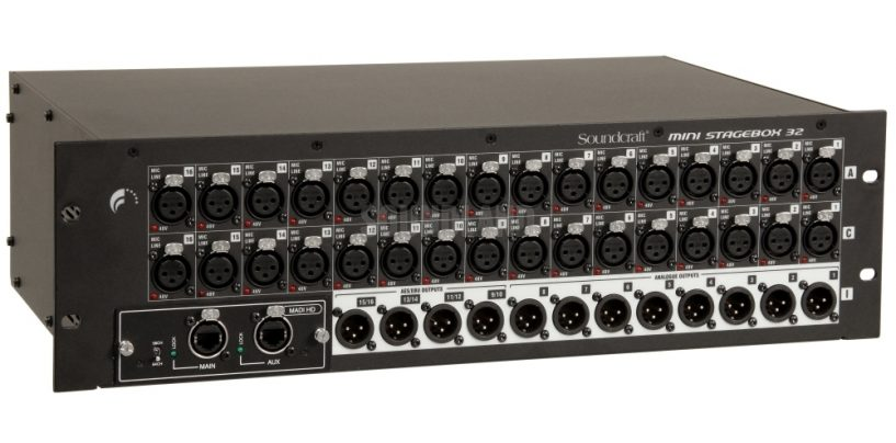 Harman: Soundcraft lança no País dois Mini Stageboxes
