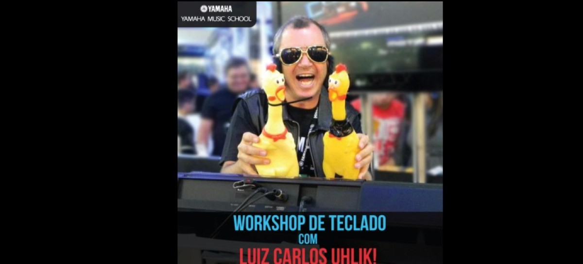Workshop de teclado na Yamaha Music School