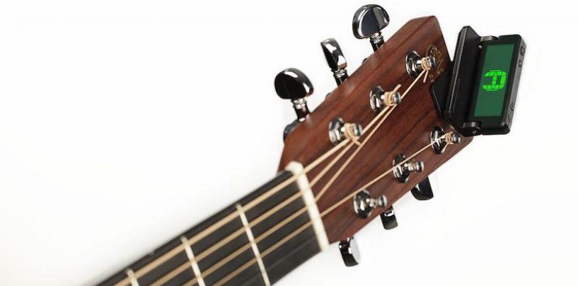 D'Addario lança afinador o Clip-on Headstock