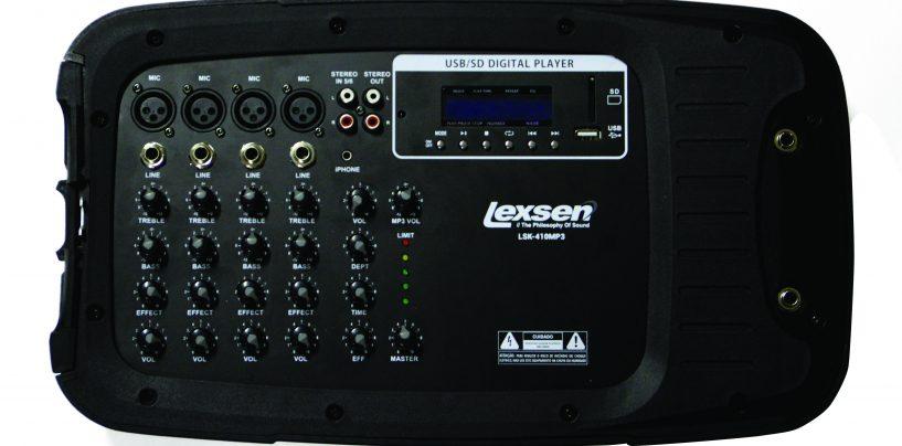 ProShows aprenta novos produtos Lexsen