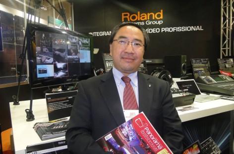 Roland passa a trabalhar com representantes comerciais