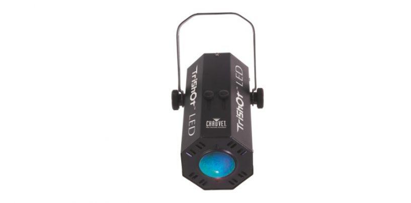 Chauvet: Lançamento TriShot LED