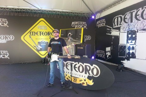 Marca de Amplificadores Meteoro abre lounge no Monsters of Rock