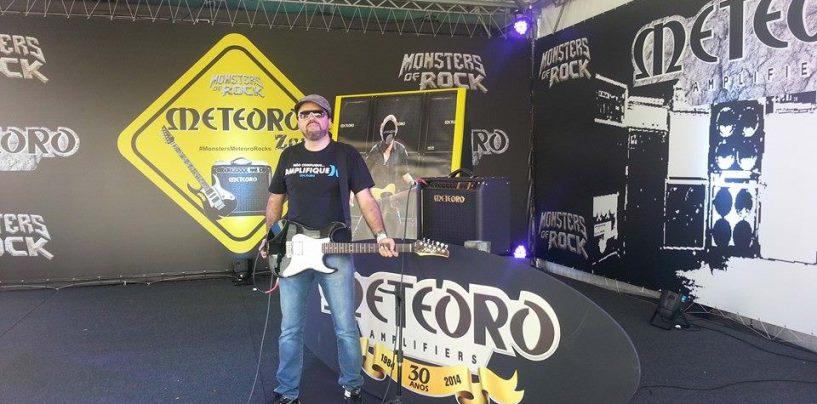 Marca de Amplificadores Meteoro abre lounge no Monsters of Rock