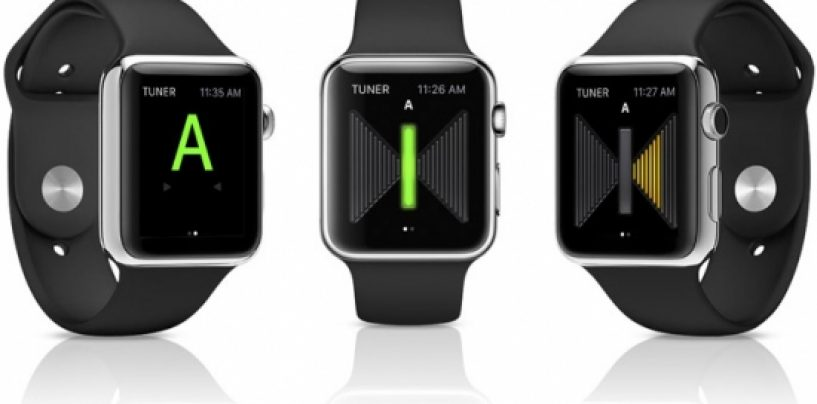 Ik Multimedia lança afinador de guitarra para Apple Watch