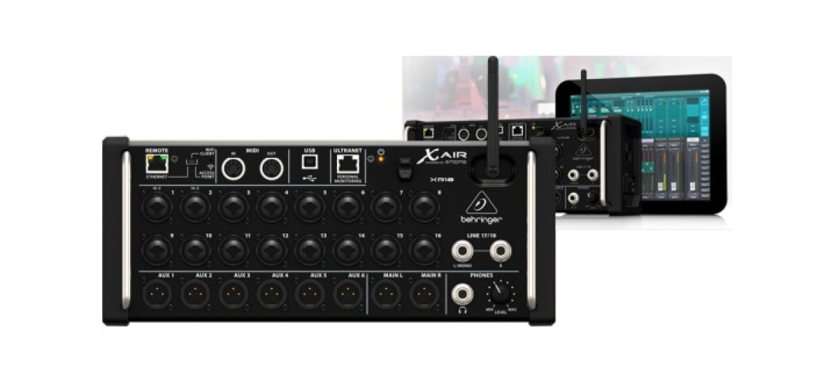 Behringer XR 18 Air: o console portátil
