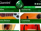 Giannini estreia novo site