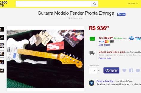 Grupo no Facebook denuncia instrumentos musicais falsificados